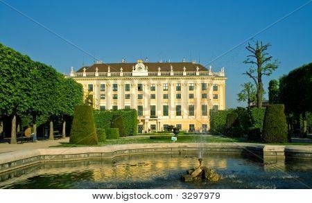 Artesian Well In Gardens Of Schonbrunn Palace