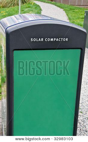 Solar Compactor