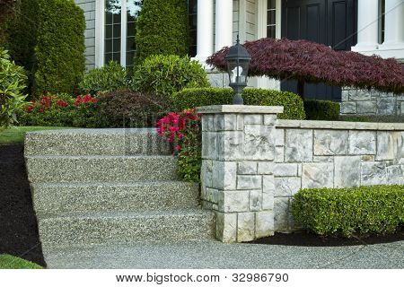Front Yard Steps To Home