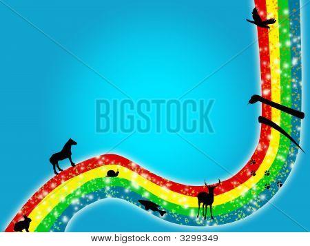 Animais arco-íris