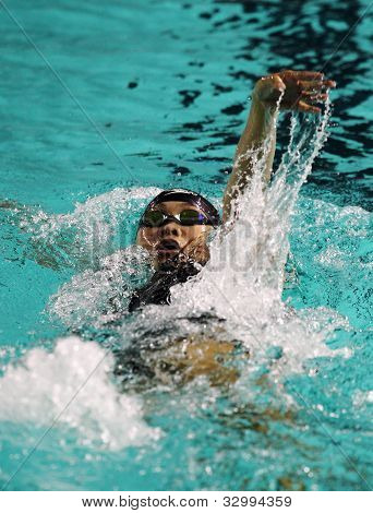 Nadador Chan Kah Yan
