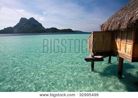 The Lagoon On Bora Bora