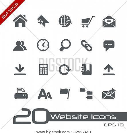 Website Icons // Basics