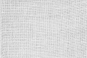White Hemp Rope Texture Background. Haircloth Or Blanket Wale Linen Wallpaper. Rustic Sackcloth Canv poster