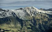 Beautiful Mountain View From Axalp, Switzerland poster