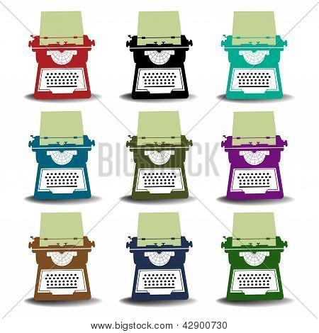 Typewriter machines