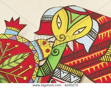 Colourful Animal Birthday Cards