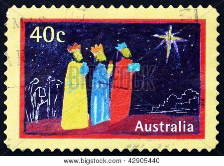 Postage Stamp Australia 1998 Magi And Star, Christmas