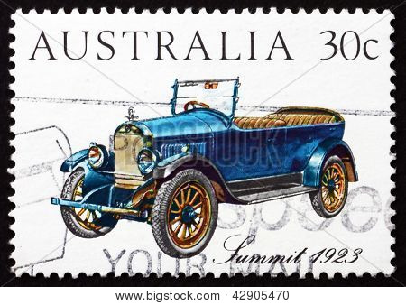 Postage Stamp Australia 1984 Summit 1923, Vintage Car