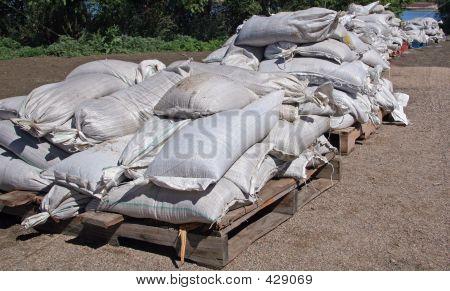 Sandbags Ready