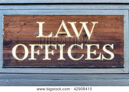 Law Offices Sign