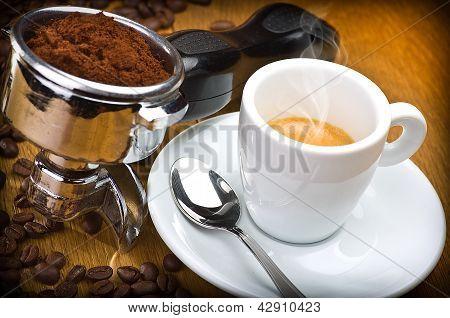 Grupo de máquina de café expresso
