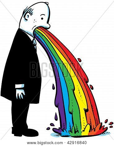 Businessman Rainbow