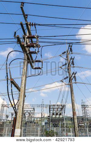 Estación de energía eléctrica