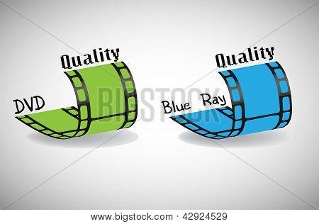 DVD und Blu-Ray-Qualität