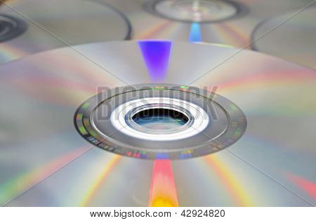 Dvd And Cd Background.