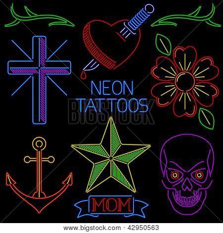 Neon Tattoos