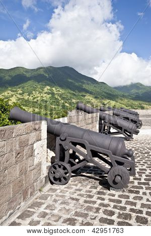 Cannons of St. Kitts
