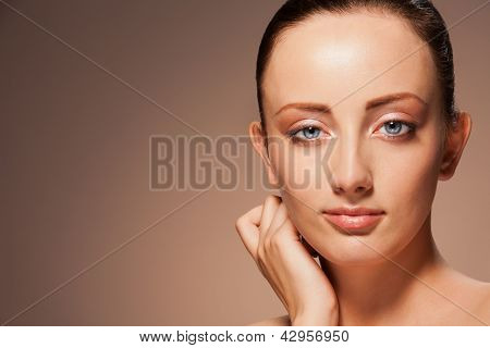 Portrait Of Gorgeous Confident Woman