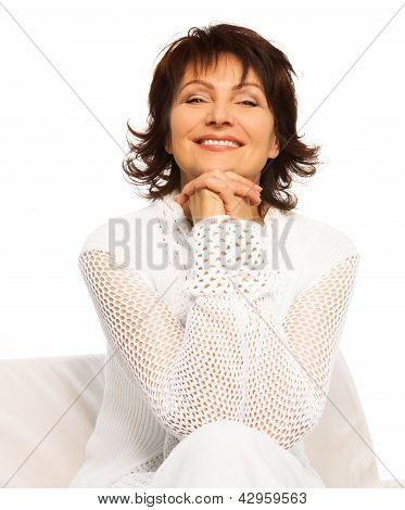 Confident Happy Senior Adult