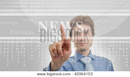 Digital News, Technology Background