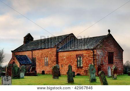 View of Addingham Church, Cumbria