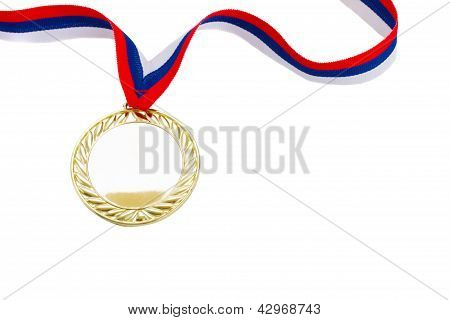 golde? medal close up