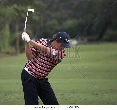 Jason Dufner at The Players Championship 2012