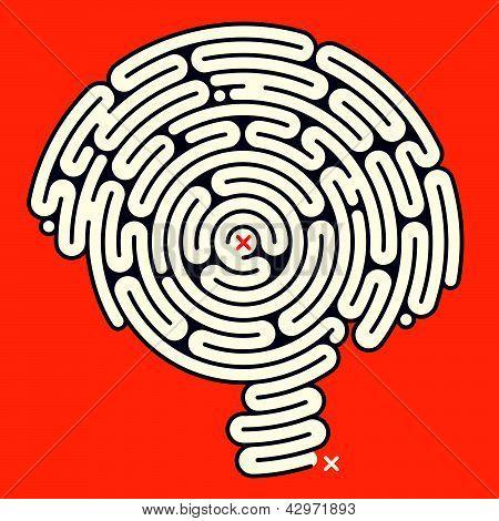 Amazing Maze de cerebro