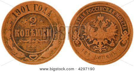 Russian Coin - 2 Copecks