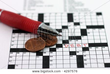 Debt Crossword