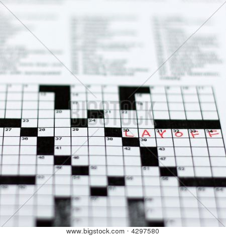 Layoff Crossword