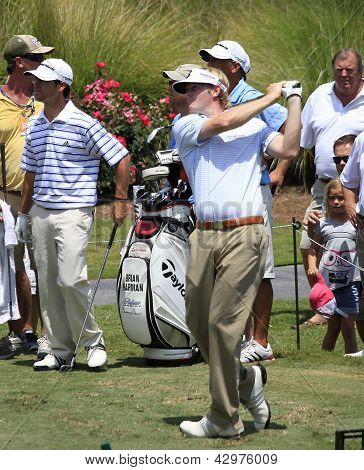 Brandt Snedeker at The Players Championship 2012