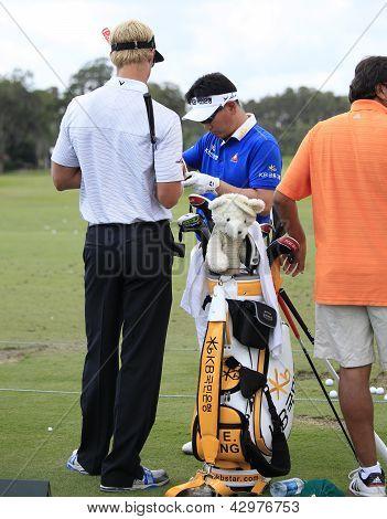 YE Yang at The Players Championship 2012