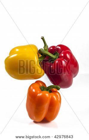 Three Bell Pepper