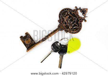 Big And Small Key Fob