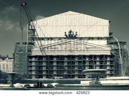 Bolshoi Theatre On Big Repair