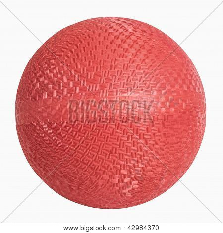 Red Rubber Wall Ball
