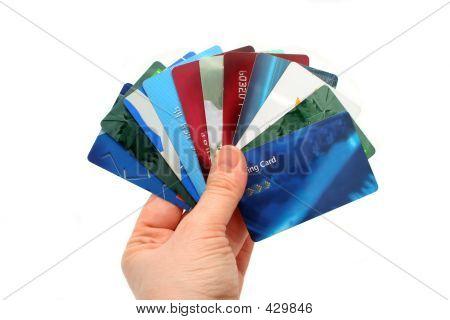 Tarjetas de plástico
