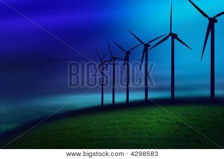 Fog On Turbines