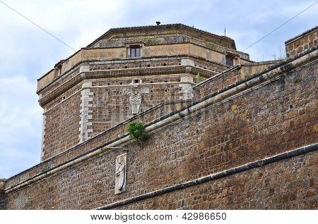 Forte Sangallo of Civita Castellana. Lazio. Italy.