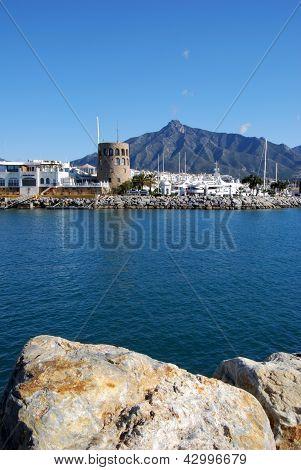 Harbour, Puerto Banus, Andalusia.