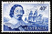 Postage Stamp Australia 1966 Abel Tasman And Ship