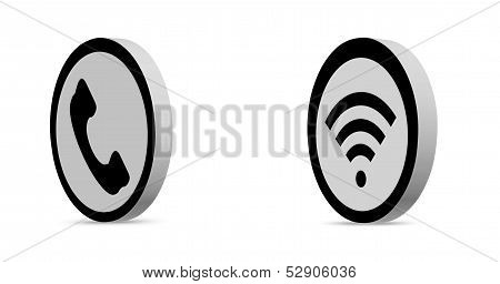 Phone and Wifi icon