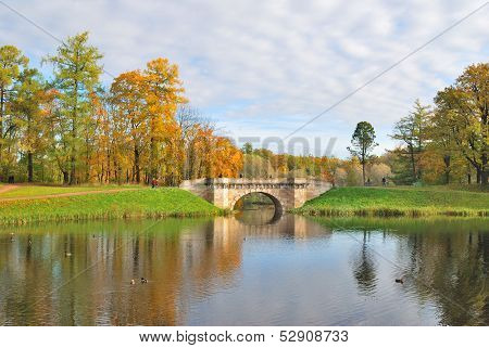 St. Petersburg, Gatchina In Autumn