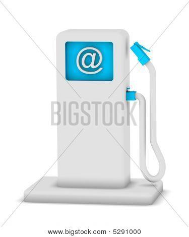 Estação de ponto de Internet