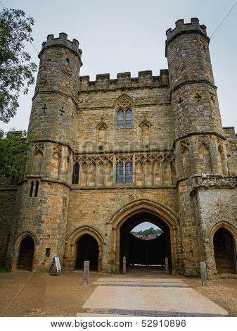 Gates At Battle Abbey At Hastings
