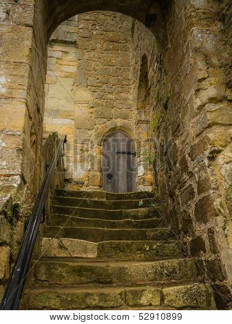 Steps At Battle Abbey At Hastings
