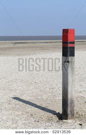 Wooden Pole Texel - 2