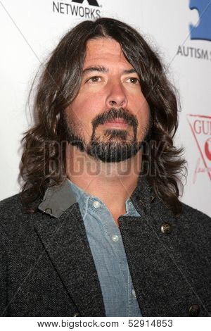 LOS ANGELES - OCT 24:  Dave Grohl at the Blue Jean Ball benefiting Austism Speaks at Boulevard 3 on October 24, 2013 in Los Angeles, CA